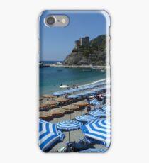 My Italian Collection - Monterosso Umbrellas iPhone Case/Skin