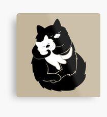 Mama Cat Metal Print
