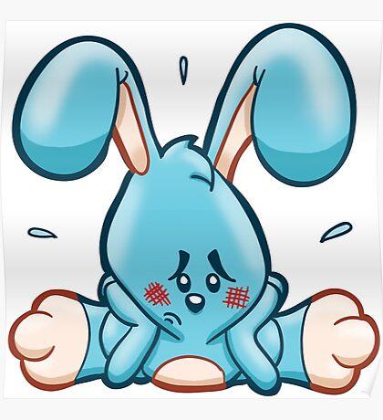 HeinyR- Sad Bunny Poster