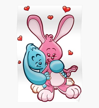 HeinyR- Bunny Love Poster