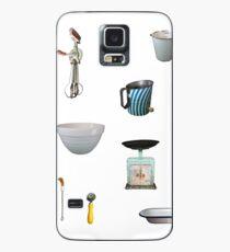Love to Bake! - white background Case/Skin for Samsung Galaxy
