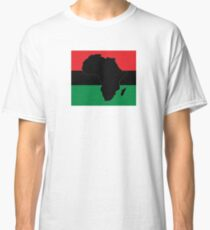 Symbol of Africa - Pan African Flag Classic T-Shirt