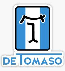 De Tomaso Automobili TALL Badge  Sticker