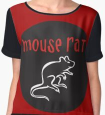 Mouse Rat Forever Women's Chiffon Top