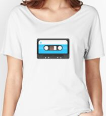 Cassette Tape Retro 80s 90s Music Lover Vintage Style T-Shirt Women's Relaxed Fit T-Shirt