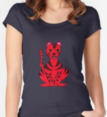 Tiger Puss Women's Fitted Scoop T-Shirt