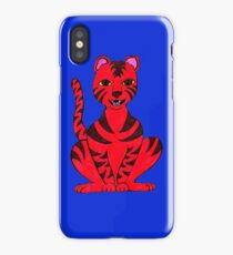 Tiger Puss iPhone Case/Skin