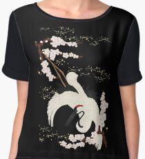 Japanese Crane Women's Chiffon Top