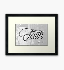 Faith (Philippians 4:13) Framed Art Print