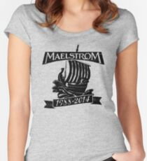 Maelstrom Women's Fitted Scoop T-Shirt