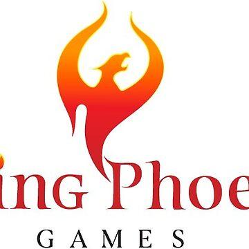 Rising Phoenix Games Logo by CptPhoenix