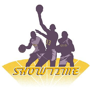 Lakers - Showtime! by kassette