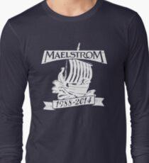 Maelstrom (WHITE) Long Sleeve T-Shirt