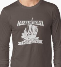 Maelstrom (WHITE) Long Sleeve T-Shirt
