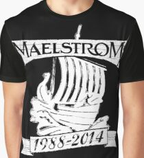 Maelstrom (WHITE) Graphic T-Shirt