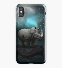 Power Is No Blessing In Itself v.2 (Protect the Rhino)  iPhone Case