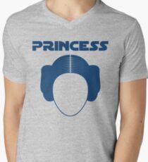 Star Wars Princess Leia Carrie Fisher Men's V-Neck T-Shirt