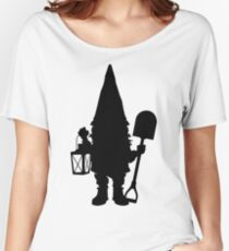 Gnome in Silhouette  Women's Relaxed Fit T-Shirt