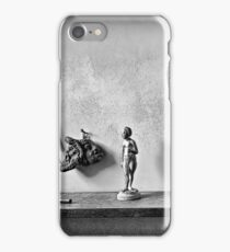 Bookshelf at Rembrandt House Museum iPhone Case/Skin