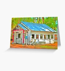 Old Country Charm  Greeting Card