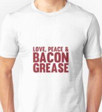 Love, Peace & Bacon Grease T-Shirt