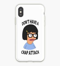 Tina Crap Attack iPhone Case