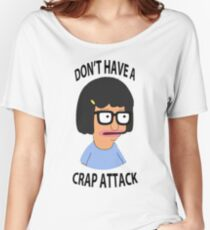 Tina Crap Attack Women's Relaxed Fit T-Shirt