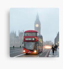 Foggy London Canvas Print