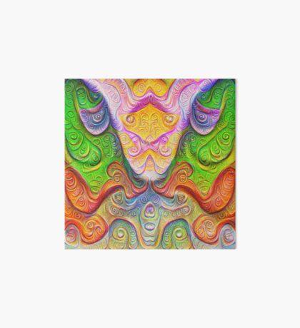 Color Stone carving #DeepDream Art Board Print
