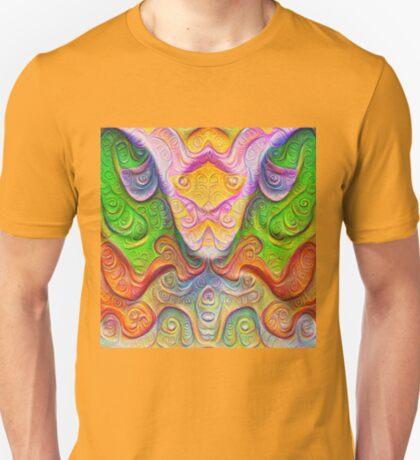 Color Stone carving #DeepDream T-Shirt