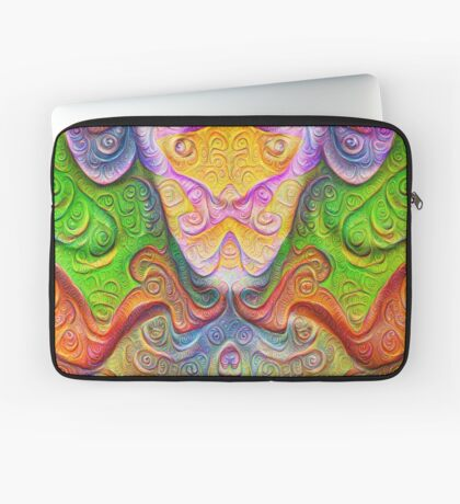 Color Stone carving #DeepDream Laptop Sleeve
