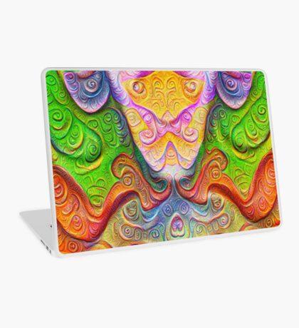 Color Stone carving #DeepDream Laptop Skin