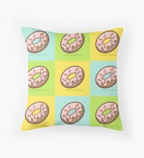 Doughnut - Sprinkles Throw Pillow
