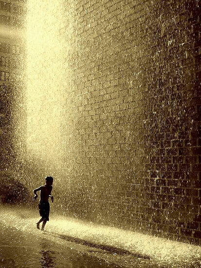 Summertime. by Beata  Czyzowska Young