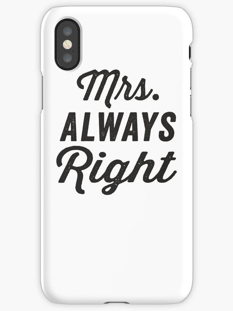 Mrs Always Right Collection Review