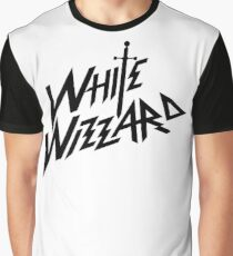 white wizzard ii Graphic T-Shirt