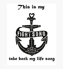 fight song Photographic Print