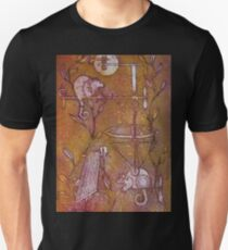 Steampunk Curly Tailed Possum Pranksters T-Shirt
