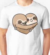 Sloth  Heart Unisex T-Shirt