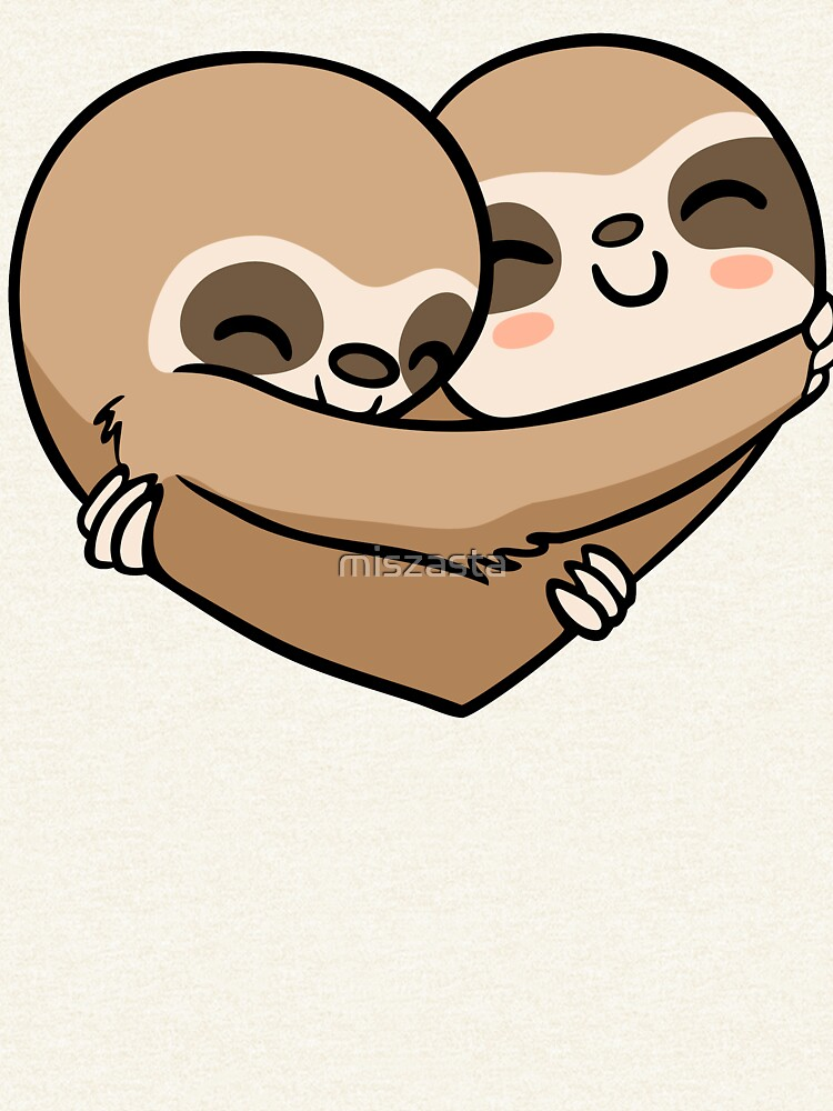 Sloth  Heart by miszasta