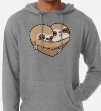 Sudadera con capucha ligera Sloth  Heart