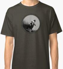Dirt bike racing trough mud Classic T-Shirt