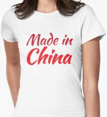 Made in CHINA Women's Fitted T-Shirt