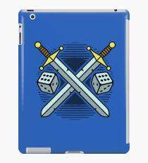 Crossed Swords and Dice iPad Case/Skin
