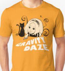 Gravity Rush - Kat New Year 2012 Logo With Text T-Shirt