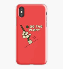 Be The Plant ! Magic Plant from Sherlock iPhone Case/Skin