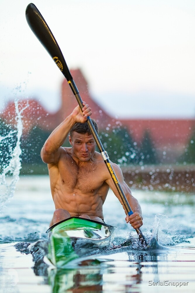 Kayaking by SerialSnapper