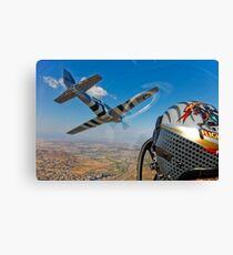 The Horsemen Aerobatic Flight Team Canvas Print