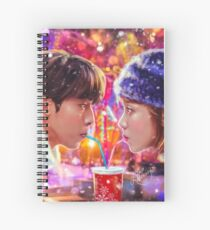 Сhristmas love couple Spiral Notebook