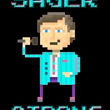 Craig Sager Strong by inkquioart